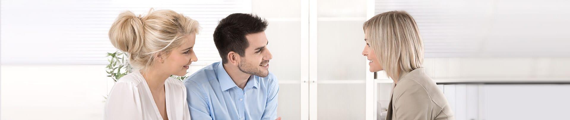 Gespräch Immobilienverkauf